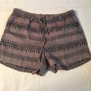 Caslon Pants - CASLON Aztec linen shorts