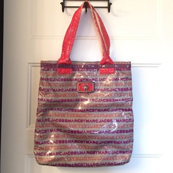 5845de29261b Marc by Marc Jacobs signature tote pvc coated red.  M 578135b156b2d69194006a6f. Other Bags ...