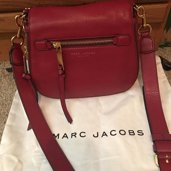 b2981a5557e Marc Jacobs small recruit saddle bag. M_578137bfbcd4a73fc6040e69
