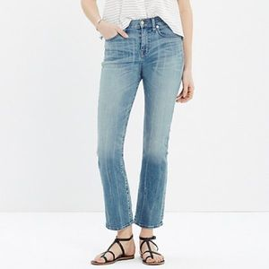 Madewell Kick Out Crop Jeans 24