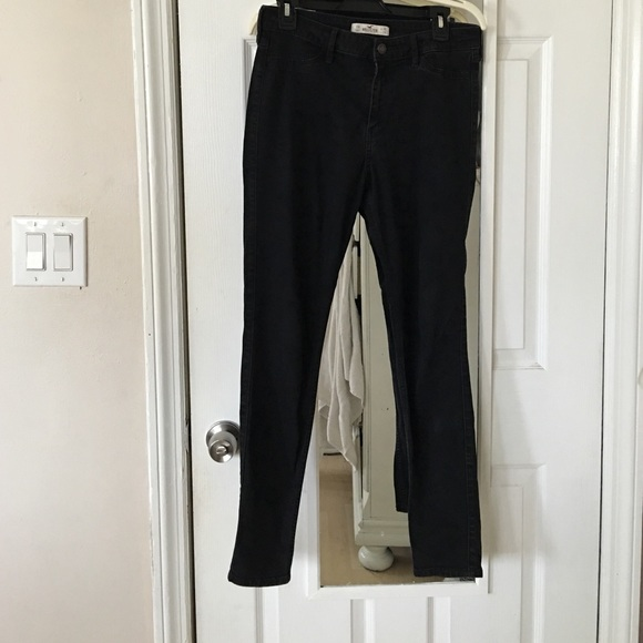 Hollister jeggings black