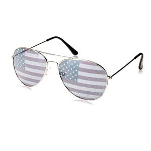 HOST PICK American flag aviator sunglasses
