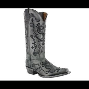Shyanne Shoes - Shyanne Floral Embroidered Western Boots