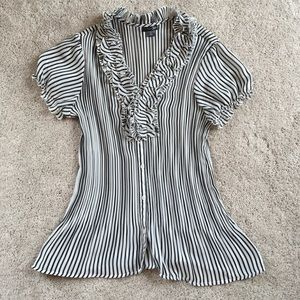 East 5th Tops - Striped dress shirt worn once