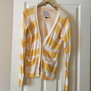 Volcom Sweaters - Striped Volcom cardigan