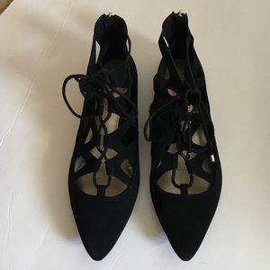 Christian Siriano for Payless lace up flats 8