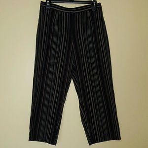 White Stag Pants - High Waist Cropped Pants