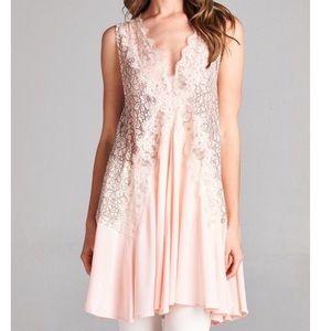 Southern Girl Fashion Tops - LACE TUNIC Embroidered Bohemian Draped Swing Dress
