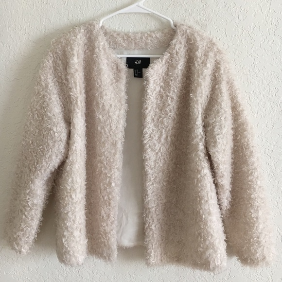 ef9d6003bb H M Sweaters - Fuzzy Cardigan from ...