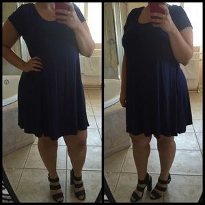 Dresses & Skirts - Navy Blue Dress 1x*