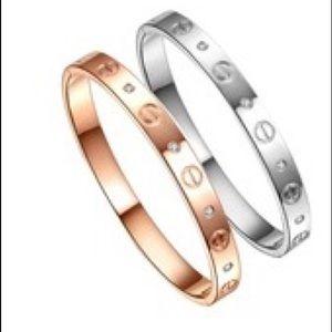Jewelry - Silver love bracelet NOW IN STOCK!!