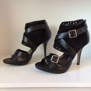 Anne Michelle black heels size 7.5