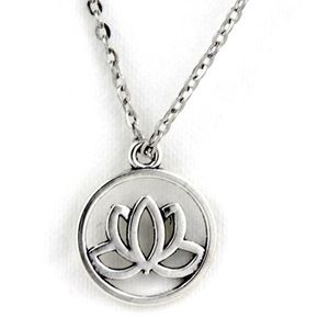 Jewelry - New Silver Lotus Flower Necklace