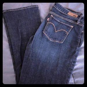 Levi boot cut jeans