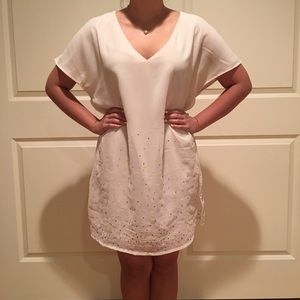 H&M Dresses - H&M Sequin Shift Dress Size 4