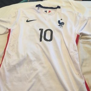 Nike Dri Fit Benzema France Soccer Jersey
