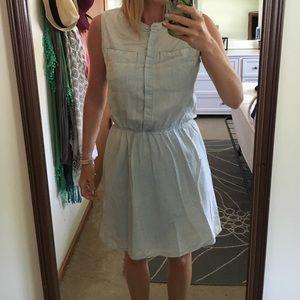 Merona chambray dress size small