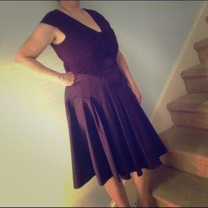 Adrianna Papell dress, grape/plum