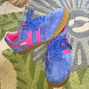 Gola Shoes - Blue and Pink Gola Sneakers