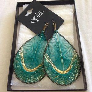 Primark Jewelry - Primary Teal earrings