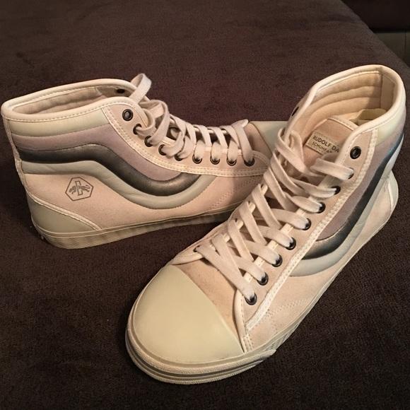 227f278e53edea Puma Rudolf Dassler High Top Metallic Sneakers 👽.  M 57815a9efbf6f99c6d00af23