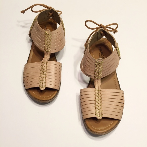 080e7c6238ff Kenneth Cole Reaction Shoes - Kenneth Cole Reaction Gladiator Sandals Size  8M