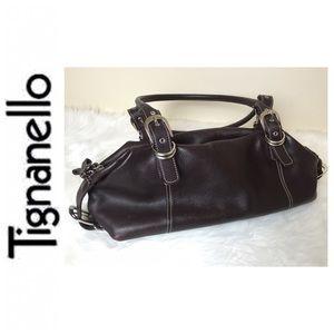 Tignanello Handbags - Tignanello Signature Leather Satchel