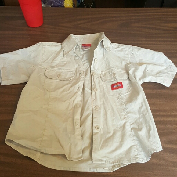 67 off dickies other awesome dickies button down for Awesome button down shirts