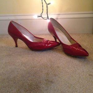 Sexy Red Pointy Heels Sz 6.5