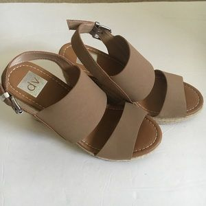 DV nude wedges size 8. Worn just a few times.