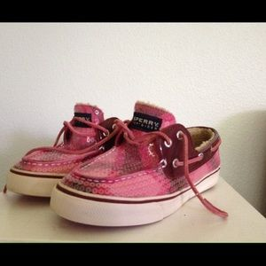 Sperry Top-Sider Shoes - Sperry 6.5M Top-Sider Loafers Pink