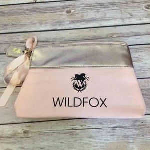 WILDFOX Cosmetic Bag w/ Text