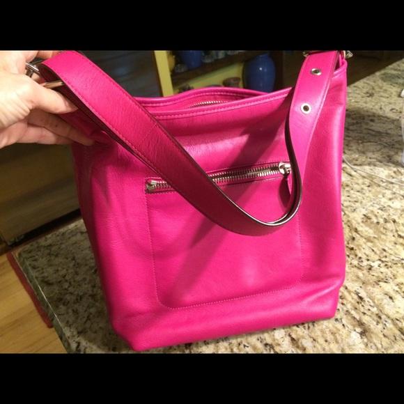 Coach Bags - Coach Legacy Duffle bag hot pink leather purse ... c8c9729b0e5da
