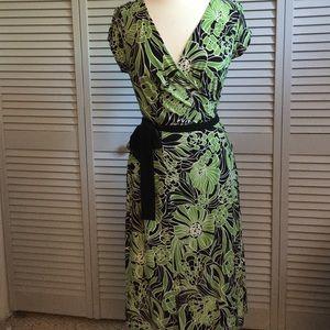 Versailles Dresses & Skirts - Versailles Faux Wrap Dress