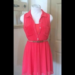 💥SALE NWT! Coral Sleeveless Dress