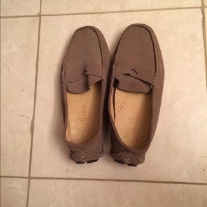 Driving suede moccasins by Cole Haan