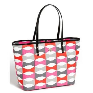 Rare Adorable Kate Spade Bow Tote