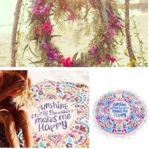 Influence Other - 🌺🌿 round tapestry