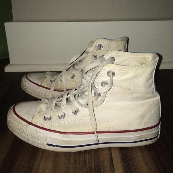 9d5f35db4539 Converse Shoes - CONVERSE White High Top Shoes
