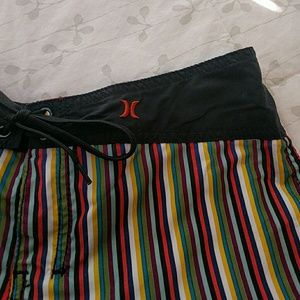 Hurley Other - Hurley Striped Boardshorts