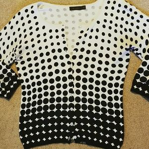 The Limited Sweaters - The Limited 3/4 Sleeve Cardigan sz M