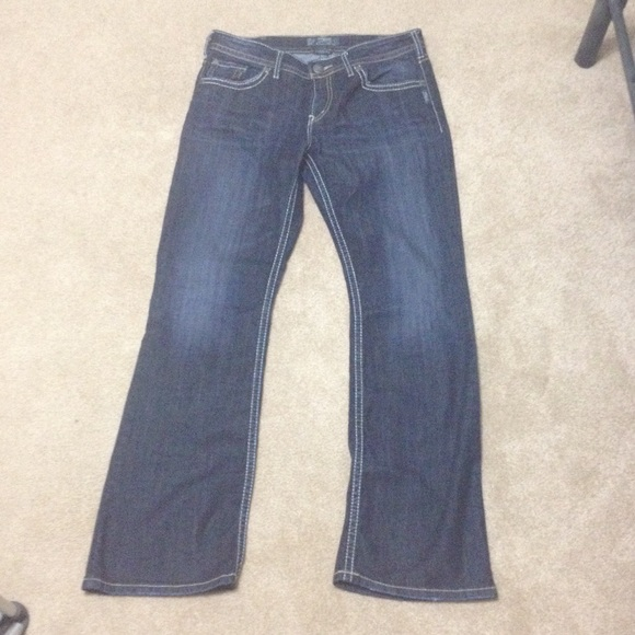 67% off Silver Jeans Denim - Silver NATSUKI jeans (W32/L23) from ...
