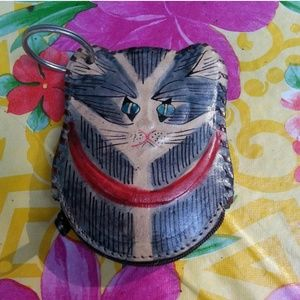 Vintage cat coin purse - so cute!