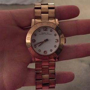 Rose gold Marc by Marc Jacobs watch