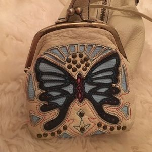 Leather Butterfly Bag