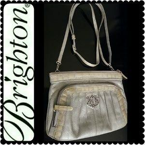Brighton Handbags - Brighton Leather Crossbody/ Clutch Bag