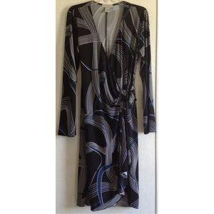 Spiegel Dresses & Skirts - Spiegel Geometric Wrap Dress