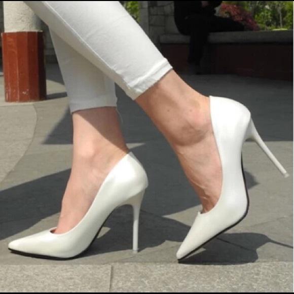 Aldo Shoes | Aldo White Pumps | Poshmark