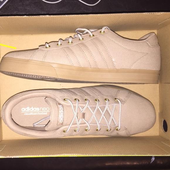 new styles b0967 88764 ... 50% off adidas neo daily mens shoes khaki tan 72781 b0b10