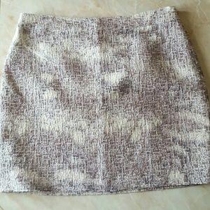 Banana Republic Dresses & Skirts - Textured Metallic Mini Skirt